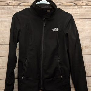 The North Face Black Zip-Up Windbreaker/Jacket